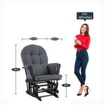 Load image into Gallery viewer, Detec™ Rocking Glider chair & Ottoman