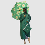 Load image into Gallery viewer, Detec™ Raincoat/Umbrella in Green Free Size