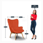 Load image into Gallery viewer, Detec™ Hannover Lounge Chair With Footstool - Multicolor