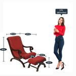 Load image into Gallery viewer, Detec™ Sevilla  Lounge Chair - Walnut Color