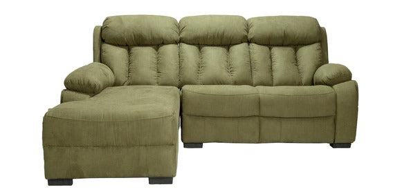 Detec™ Heine 2 Seater RHS Sectional Sofa - Green Color