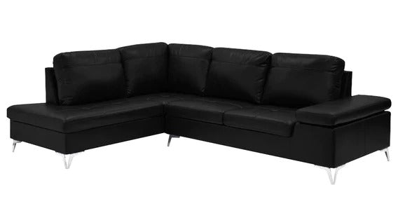 Detec™ Hanno RHS Sofa - Black Color