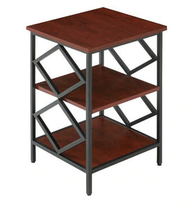 Detec™ End Table - Cherry Finish