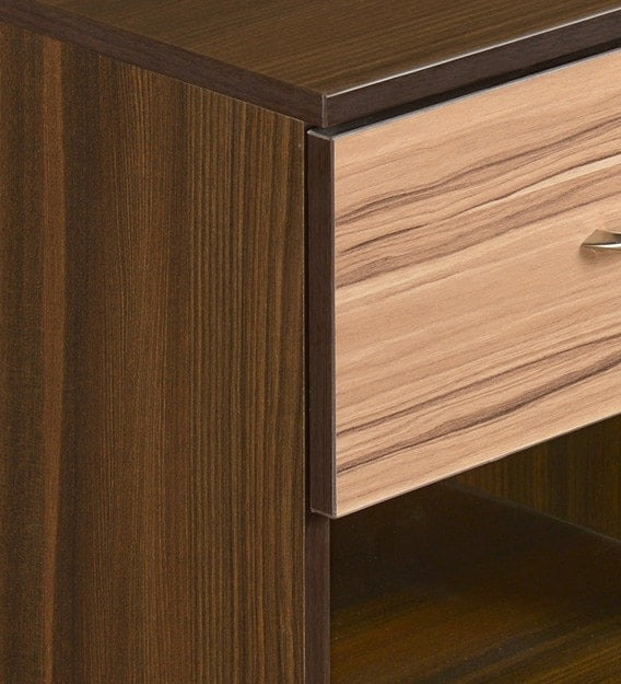 Detec™Night Stand - Classic Walnut Finish