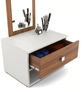 Detec™ Dressing Table - Frosty White Color