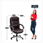 Load image into Gallery viewer, Detec™ Executive Chair in Brown Color