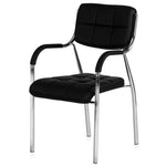 Load image into Gallery viewer, Detec™ Office Chair with Arms & Backrest Support for All Purpose Chair - Black