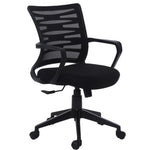 Load image into Gallery viewer, Detec™ Ergonomic Revolving Chair High Spine Back Support - Black