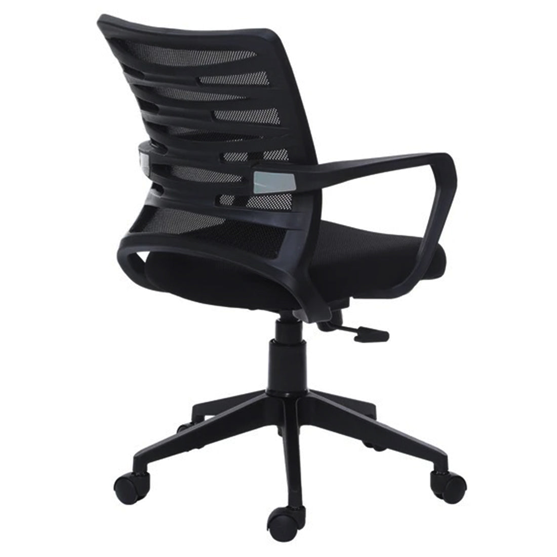 Detec™ Ergonomic Revolving Chair High Spine Back Support - Black