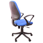 Load image into Gallery viewer,  Comfort Medium Back Revolving Chair for Office Purpose (Blue)