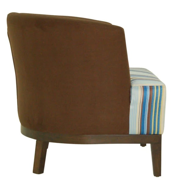 Detec™ Barrel Chair in Brown Colour