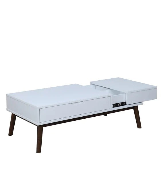 Detec™ Coffee Table in White Finish