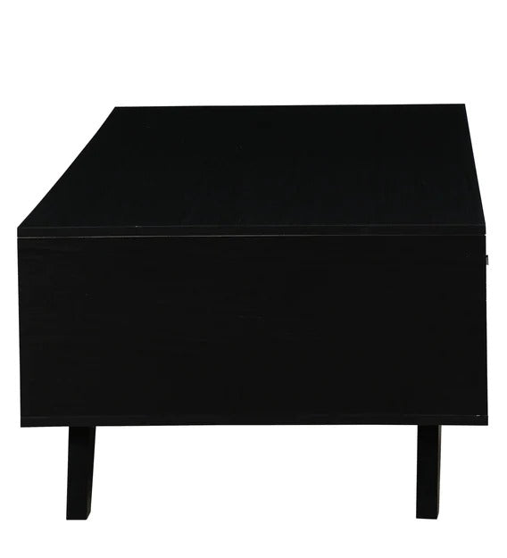 Detec™ Coffee Table with One Drawer in Black Colour