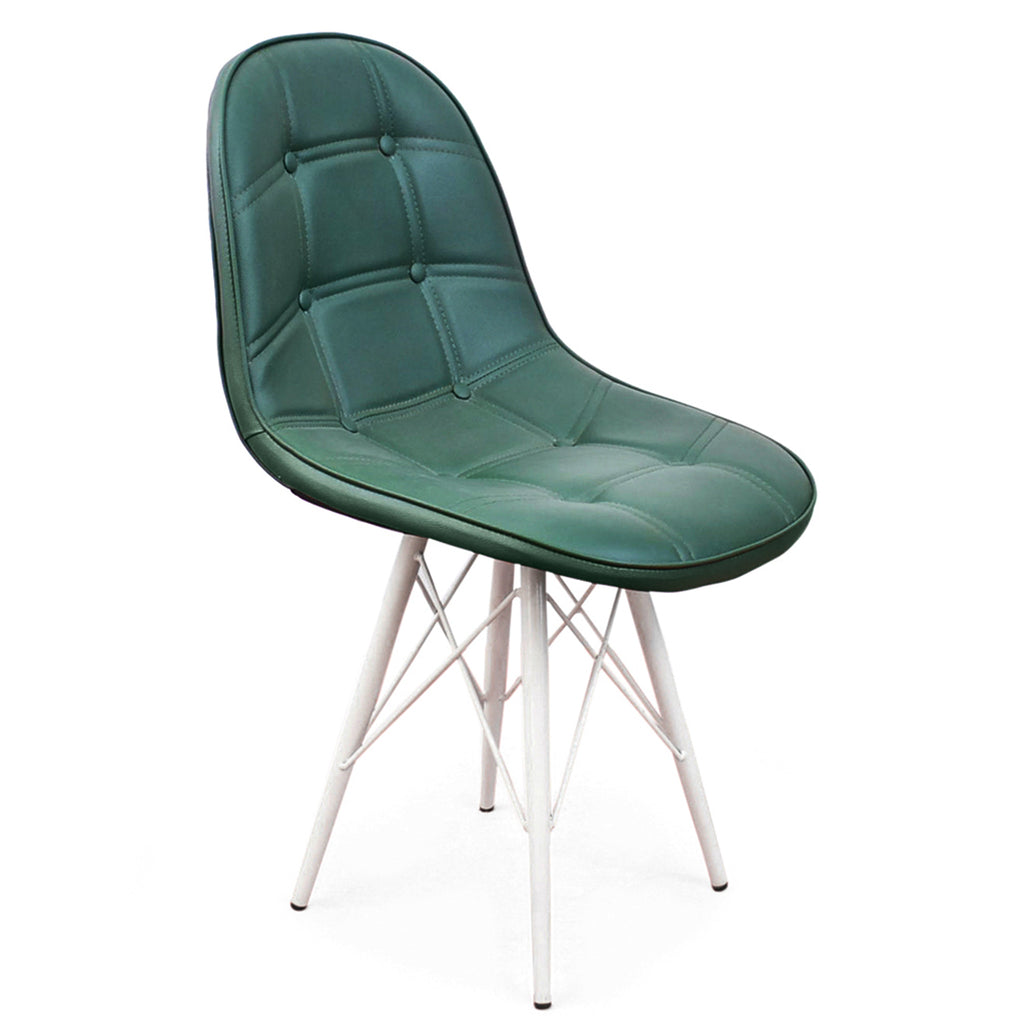 Detec™ Modern Accent Dining Chair for Living Room, Cafe, Restaurant Chair - Green