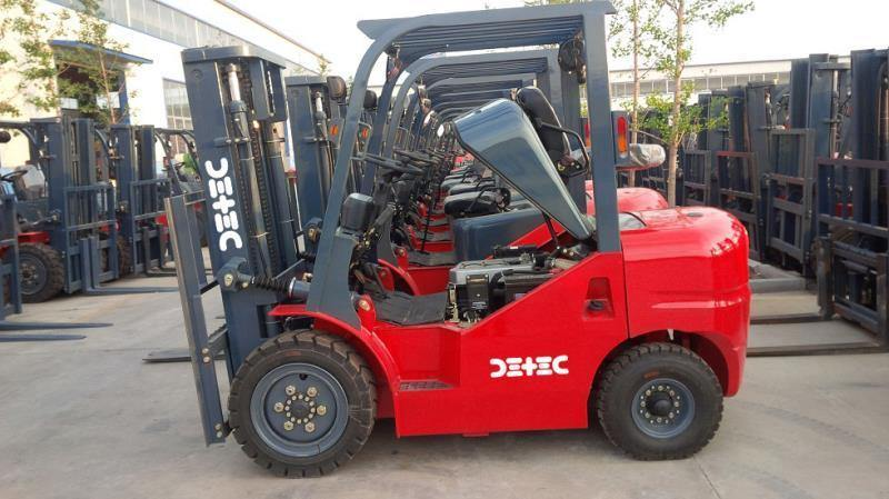 Detec™ Diesel Forklifts - Detech Devices Private Limited
