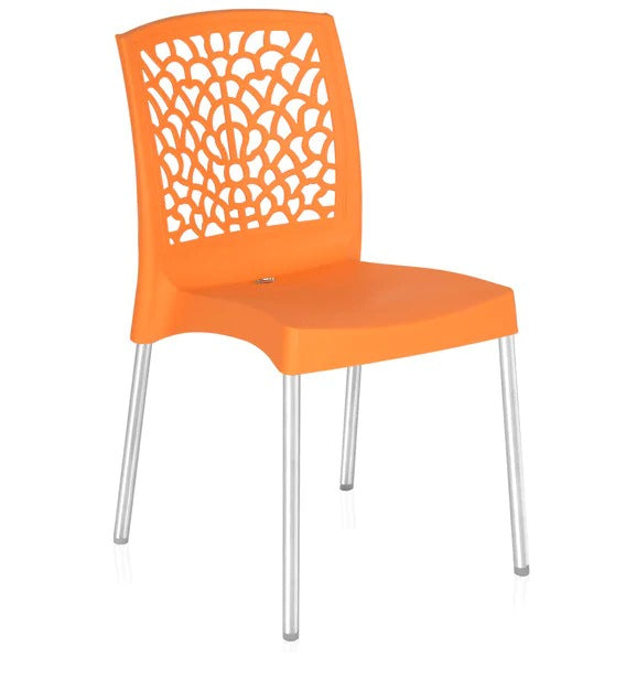 Plastic Chair (Set of 2) - Multicolor