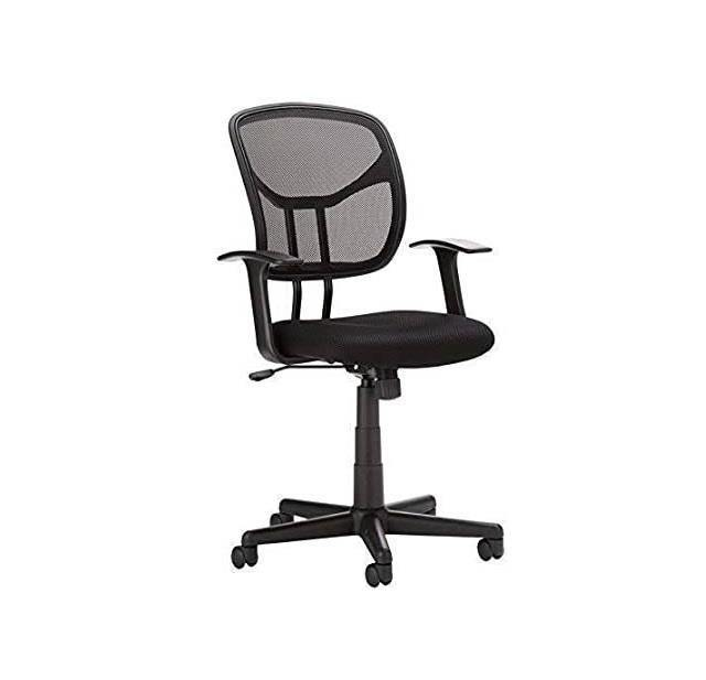 Mid Back Mesh Revolving Executive Chair for Office Home Computer Desk Chair (Balck)