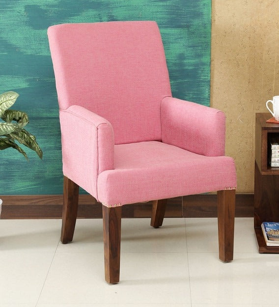 Detec™ Solid Wood Arm Chair In Provincial Teak Finish