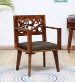 Load image into Gallery viewer, Solid Wood Armchair in Provincial Teak Finish