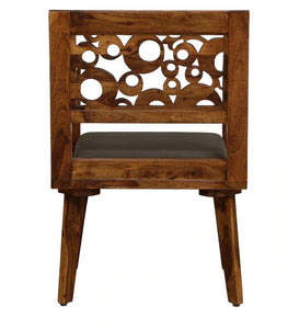 Solid Wood Armchair in Provincial Teak Finish