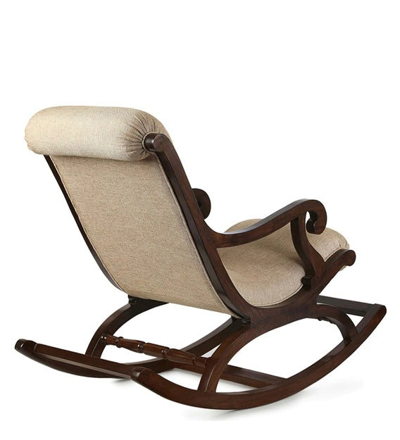 Rocking Chair in Walnut Color