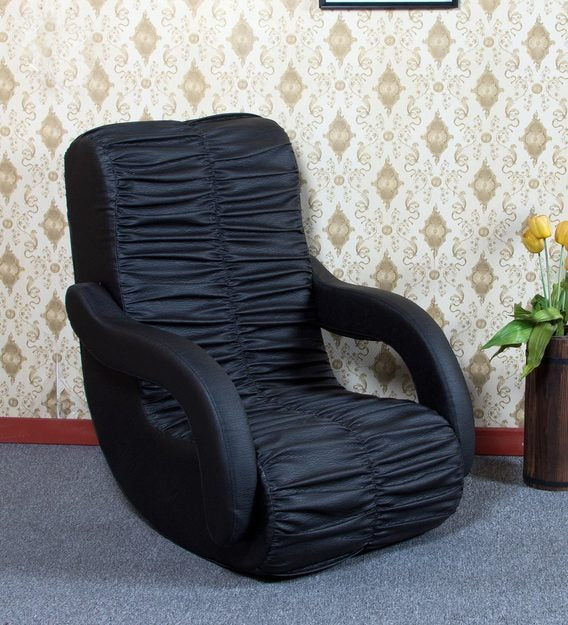 Rocking chair with arms black