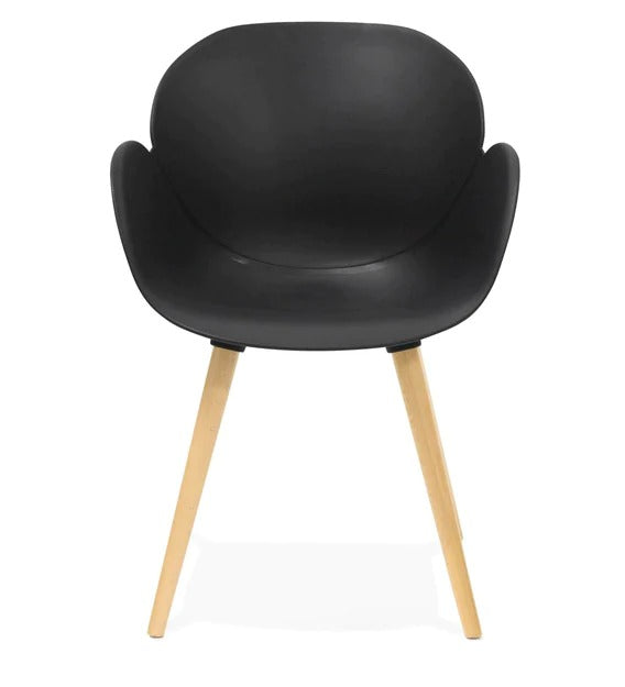 Cafe chair in black