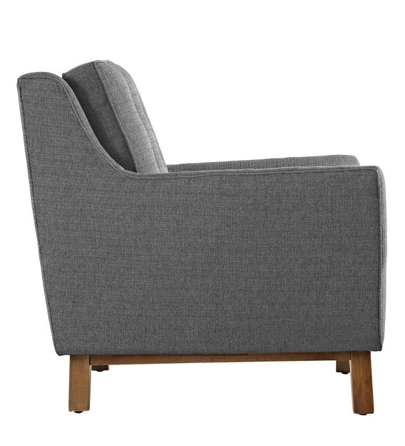 Lounge chair in grey
