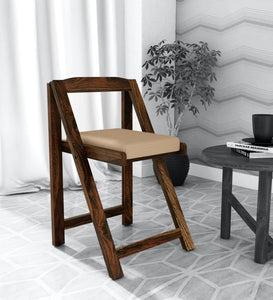 Solid Wood Folding Chair in Provincial Teak Finish