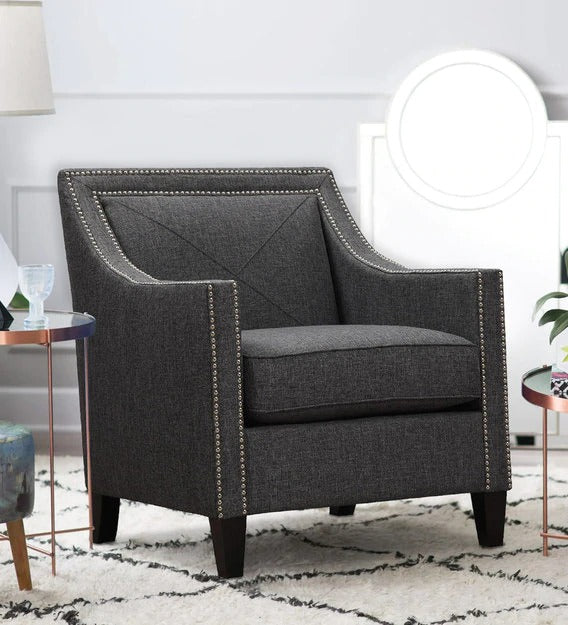 Lounge Chair in formal grey