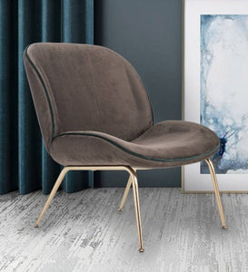 Luxe Chair in dark grey color