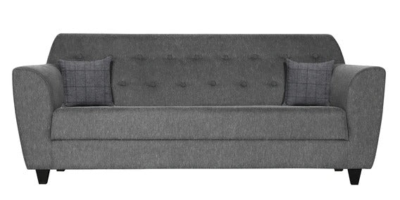 Marcien Three Seater Sofa - Grey Color