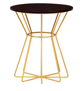 Detec™ End Table in Brown Colour