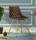 Load image into Gallery viewer, Detec™ Ufa Homzë Special's Chair - Brass Finish