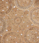 Load image into Gallery viewer, Detec™ Curve Floral Pattern Jute Hand Tufted Rug