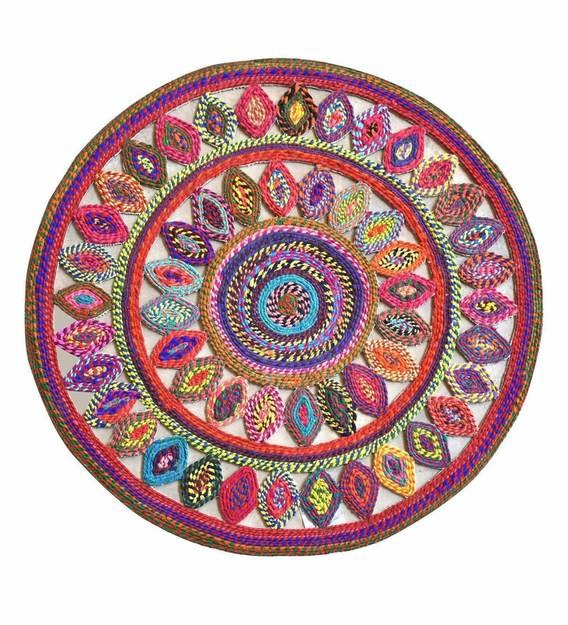Detec™ Traditional Pattern Cotton Hand Tufted Rug