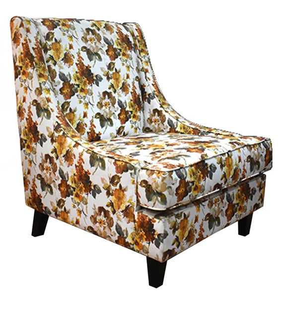 Detec™ Lounge Chair with Floral Print