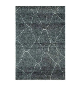Detec™ Abstract Pattern Viscose Hand Woven Rug
