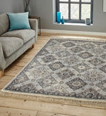 Load image into Gallery viewer, Detec™ Geometrical Pattern Viscose Rug