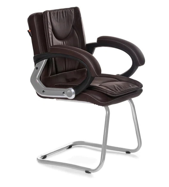 Detec™ Cantilevre Chair in Brown Colour