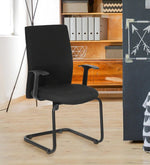 Load image into Gallery viewer, Detec™ Cantilever Chair - Black Color