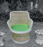 Load image into Gallery viewer, Detec™ Classic Handcrafted Muddha Chair - Green Color