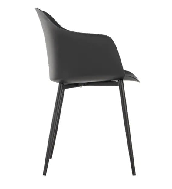 Detec™ Plastic Chair - Black Color