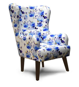 Detec™ Wing Chair - Floral Pattern