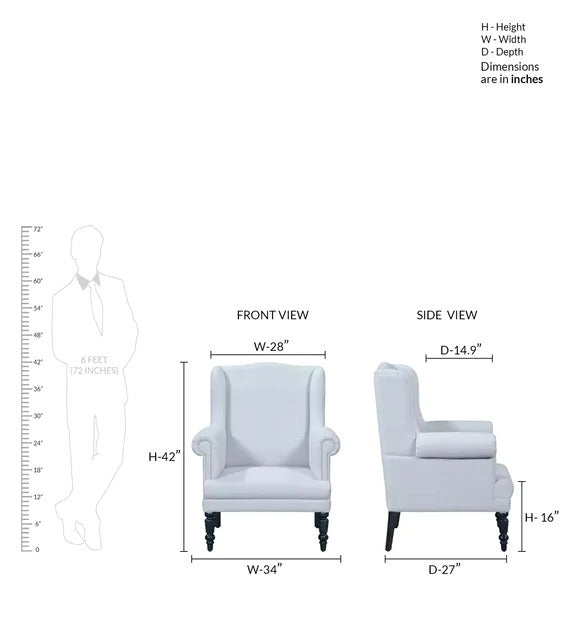 Detec™ Wing Chair - 2 Different Finish