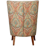 Load image into Gallery viewer, Detec™ Wing Chair - Beige Floral Color