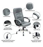 Load image into Gallery viewer, Detec™ High Back Executive Chair - Grey Color