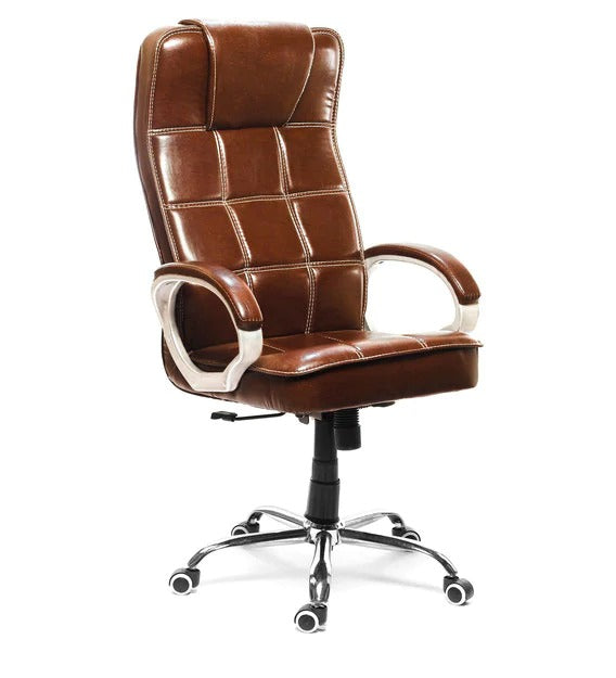 Detec™ Executive Chair - Brown Color