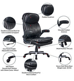 Load image into Gallery viewer, Detec™ Gaming Chair - Black Color