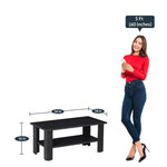 Load image into Gallery viewer, Detec™ Coffee Table - Dark Wenge Color